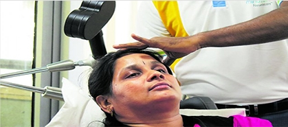 TMS treatment for depression in India