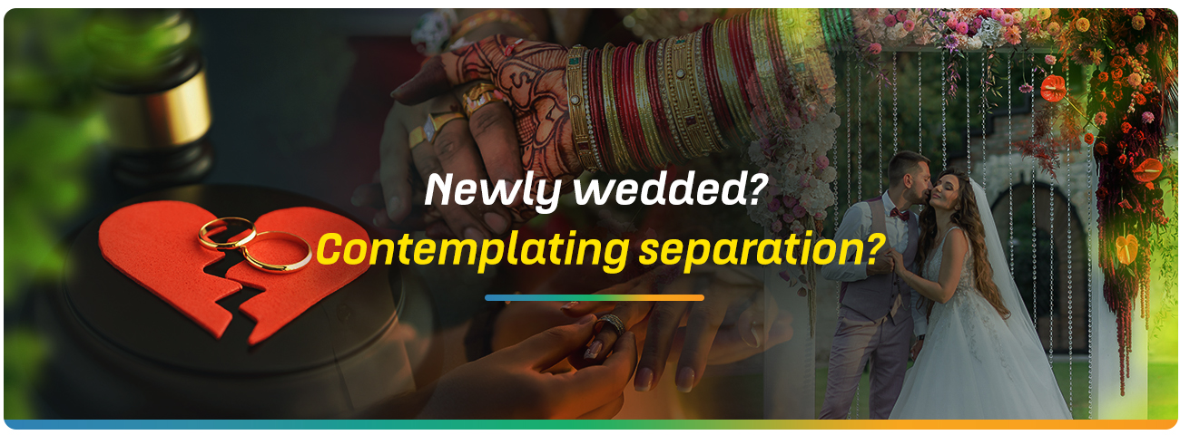 Newly wedded? Contemplating separation? | MindfulTMS
